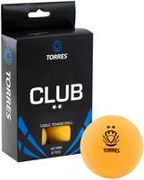 """Мячи для настольного тенниса """"Club"""" (6 шт.; 2 звезды; оранжевые)"""