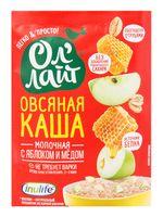 """Каша быстрого приготовления овсяная """"Ол'Лайт. С яблоком и медом"""" (40 г)"""
