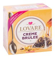 """Чай черный """"Lovare. Крем-брюле"""" (15 пакетиков)"""