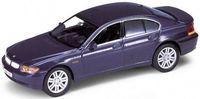 "Модель машины ""Welly. BMW 745i"" (масштаб: 1/34-39)"