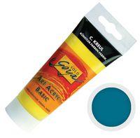 """Краска акриловая матовая """"Solo Goya Basic"""" 17 (100 мл; бирюзовый)"""