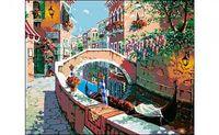 """Картина по номерам """"Утро в Венеции"""" (400x500 мм)"""
