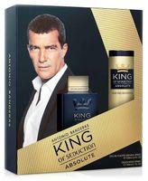"""Подарочный набор """"King of seduction absolute"""" (туалетная вода, дезодорант)"""