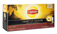 "Чай черный ""Lipton. Heart of Ceylon"" (25 пакетиков)"