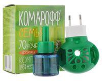"""Электрофумигатор с жидкостью от комаров """"Комарофф. Семья"""""""