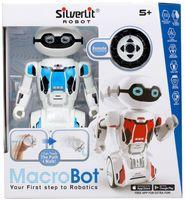 """Робот на радиоуправлении """"MacroBot"""" (синий; со световыми и звуковыми эффектами)"""