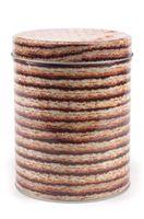Банка для сыпучих продуктов металлическая (11х14 см; арт. Y108015L)
