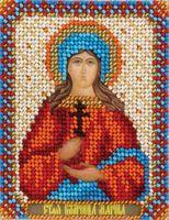 """Вышивка крестом """"Святая Великомученица Марина"""""""
