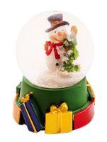 """Снежный шар """"Новогодний"""" (4,5x4,5x6 см)"""
