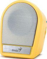 Портативная колонка Genius SP-i177 (yellow)