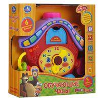 """Развивающая игрушка """"Часы. Маша и Медведь"""""""