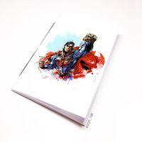 """Блокнот белый """"Супермен"""" А5 (880)"""