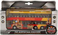"""Модель машины """"Двухэтажный автобус"""" (масштаб: 1/43)"""