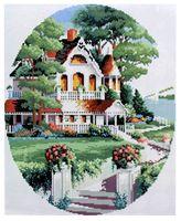 """Алмазная вышивка-мозаика """"Дом за городом"""" (400x500 мм; арт. 7713002)"""