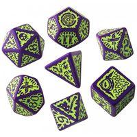 """Набор кубиков """"Pathfinder. Goblin"""" (7 шт.; фиолетово-зеленый)"""