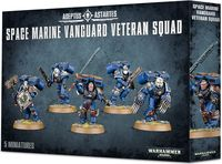 Warhammer 40.000. Space Marines. Vanguard Veteran Squad (48-18)