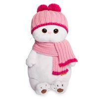 """Мягкая игрушка """"Ли-Ли в розовой шапке с шарфом"""" (24 см)"""