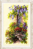"""Вышивка крестом """"Балкон возлюбленной"""" (150x230 мм)"""