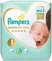 "Подгузники ""Premium Care Newborn"" (2-5 кг; 20 шт.)"