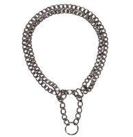 "Ошейник-удавка двойной ""Semi-Choke Chain"" (60 см)"
