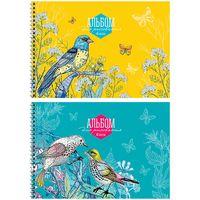 """Альбом для рисования """"Цветы и птицы"""" (А4; 48 листов; в ассортименте)"""