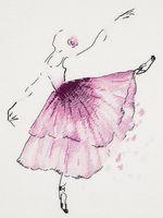 "Вышивка крестом ""Балерина. Анемон"""