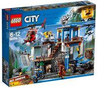 """LEGO City """"Полицейский участок в горах"""""""