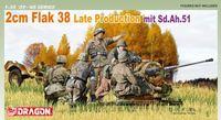 "Зенитная самоходная установка ""2cm Flak 38 Late Production mit Sd.Ah.51"" (масштаб: 1/35)"