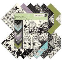 """Набор бумаги для скрапбукинга """"Черное на слоновой кости"""" (310х310 мм; 36 листов)"""