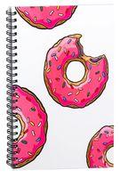 """Блокнот в клетку """"Пончик. Симпсоны"""" A5 (арт. 001)"""