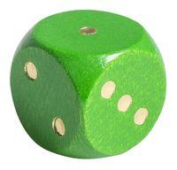 """Кубик D6 """"Эко-стиль"""" (зеленый)"""
