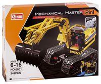 "Конструктор ""Meсhanical Master. Экскватор и робот"" (342 детали)"
