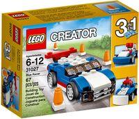 """LEGO Creator """"Синий гоночный автомобиль"""" (багги/снегоочиститель)"""