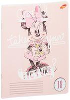 "Тетрадь в линейку ""Minnie Mouse"" (18 листов)"
