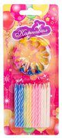 Набор свечей для торта с держателями (24 шт.; арт. NC-2412)