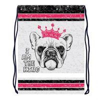 "Рюкзак-мешок ""Собака в короне"""