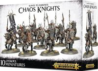Warhammer Age of Sigmar. Slaves to Darkness. Chaos Knights (83-09)