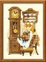 """Вышивка крестом """"Часы"""" (арт. 858)"""