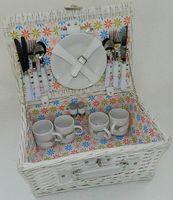 Набор посуды для пикника в корзине (на 4 персоны; арт. HQC-141006)