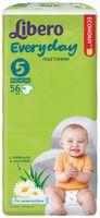 """Подгузники для детей """"Libero Every day XL 5"""" (11-25 кг; 56 шт)"""