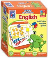 """Набор магнитов """"English. Животные"""""""