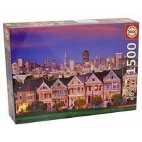 "Пазл ""Викторианские дома. Сан-Франциско"" (1500 элементов)"