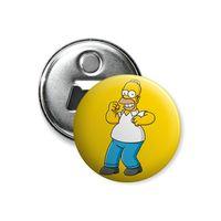 """Открывалка-магнит """"Симпсоны. Гомер"""" (арт. 090)"""