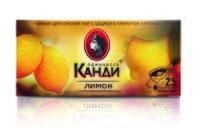 """Чай черный """"Принцесса Канди. Лимон"""" (25 пакетиков)"""