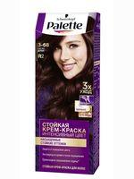 """Крем-краска для волос """"Интенсивный цвет"""" тон: 3-68, красное дерево"""
