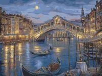"Картина по номерам ""Ночная Венеция"" (400х500 мм; арт. PC4050114)"