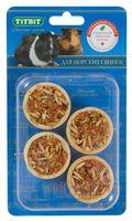 """Лакомство для морских свинок """"Тарталетки"""" (4 шт.; с ананасом и яблоком)"""