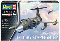 "Сборная модель ""Истребитель F-104G Starfighter"" (масштаб: 1/72)"