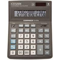 Калькулятор настольный D-316 (16 разрядов)