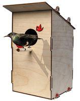 """Сборная деревянная модель """"Скворечник для птиц"""""""